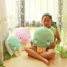 42/53cm Wholesale Summer ice candy Plush Toys Stuffed Plush Cloth ice cream pillow Cushion 2017 New Style kids toys baby doll