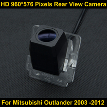 PAL HD high definition 960*576 Pixels Parking Rear view Camera for Mitsubishi Outlander 2003 2004 2005 2006 2007 2008 2009 2012(China)