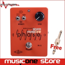 Biyang PH-12 MXR Phase 100 Effect Custom True Bypass Controls Speed Electric Guitar Effect Pedal with gold pedal connector