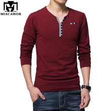 Plus Size 5XL Fashion Men T Shirt Spring Long sleeve T-shirt Homme Casual Men T-shirts Tops Tees Camisas Masculina MT558(China)
