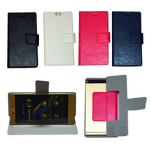 New Universal Flip PU Leather Case Cover For Vkworld G1 Smart Phone In Stock K4