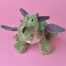 NICI Green Dragon Plush Toy for Cute Baby/ Kids Gift, Dinosaur Plush Doll Free Shipping