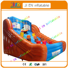 Free sea shipping giant inflatable games for sale / Outdoor Wipeout Course Inflatable Obstacle Games / inflatable Sports Games