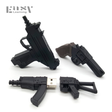 Creative USB 2.0 Cartoon Pendrives Cool AK47 Usb Flash Drives Gun Shape Submachine 4GB 8G 16G 32G 64G Memory Stick Pen Drive(China)