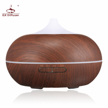 GX.Diffuser 300ML LED Lamp Electric Aroma Diffuser Aromatherapy Essential Oil Diffuser Humidifier Ultrasonic Mist Maker For Home(China)
