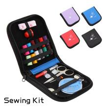 1SET Travel Camping Home Kit for Sewing Best Gift for Kids Girls Beginners  Portable Travel Scissor Thimble Home Tools 15