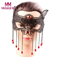 Carnival Fancy Party ball decor Halloween ball face mask decor party supplies halloween decoration Creative Face Mask Masquerade(China)