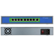 8 Port 100Mbps IEEE802.3af POE Switch/Injector Power over Ethernet for IP Camera VoIP Phone AP devices 108POE-M-AF