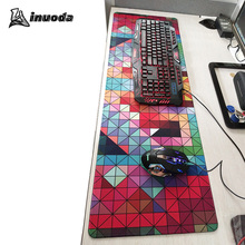 Hot Sale gaming computer cheap Mouse Pad large Size 900x400 mm For PC Computer cyber game Mice Mat speed Edition Keyboard Mat(China)