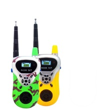 Buy 2pcs/lot Portable Interphone Electronic Walkie Talkies Toy Mini Two-Way Radio Cartoon Toy Electronic Game Children Gifts for $11.91 in AliExpress store