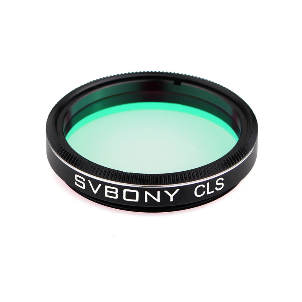 SVBONY Filter CLS 1.25 Deep Sky Filter for Astronomy Monocular Telescope Eyepiece Cut Light Pollution Visual &amp; Astronomical <br>