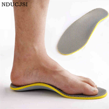 Orthopedic Plantar Insole Soft Liners Fasciitis Elastic Insole Orthotics Comfortable Support Peds Foot TPU Foam Insert Arch Q048(China)
