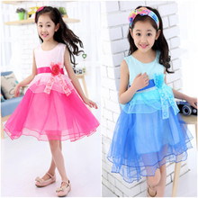 LLCB 01 baby girl clothes kids girl dress children girl beautiful princess party marry wedding design girl wear new arrival