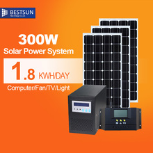 Factory Derect sale!free energy generator China Manufacturer Off Grid solar generation system 300W-1KW Solar power home system