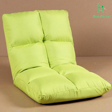Simple modern lazy sofa single folding tatami sofa cloth adult creative leisure chair