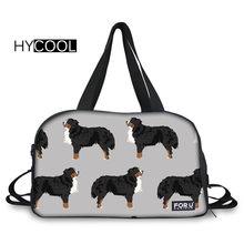c540865355c HYCOOL Yoga Bags For Women Fitness Multifunction Waterproof Gym Outdoor  Handbag Dog Printed Sport Bags Lady
