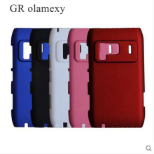GR olamexy 4Colors for Nokia N8 Plastic Matte Hard Back Case Covers Mobile Cell Phone Shell Registered + Free Shipping