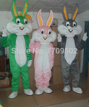 High Quality Bugs Bunny Adult plush mascot costume for festive & party supplies  fancy dress anime cosplay