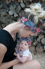 Mom and Me Headband With Knit Fabric Girl Headband Mommy and me Matching Headbands Photo Prop Gift for Mom and kids 1Set(China)