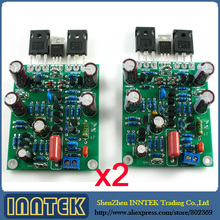 Assembled LJM L7 MOSFET high speed FET power amplifier board 2 channel , Free Shipping