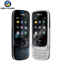 6303 Original Unlocked Nokia 6303 Classic FM GSM 3MP Camera Mobile phone Russian keyboard support