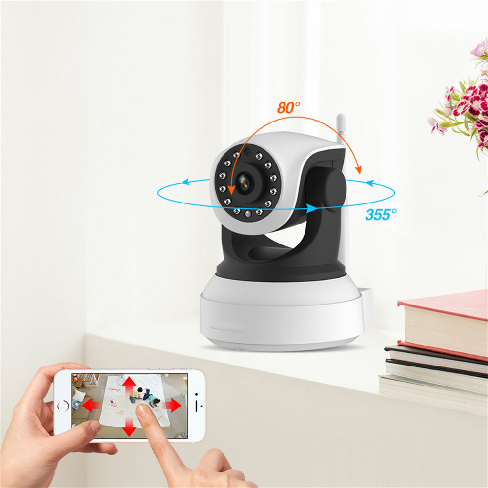 1080P HD IP Camera Wi-Fi Wireless Mini Network Camera Home Security Surveillance CCTV Camera Onvif IR Night Vision Baby Monitor <br>