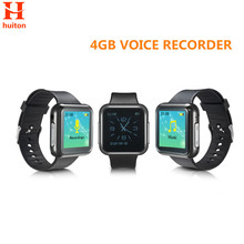 New 4GB Sport Watch Voice Recorder six recording modes support 28 languages and Password Protection mp3 WR-19(China)