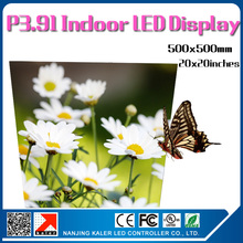 TEEHO LED advertising panel indoor p3.91 500x500mm led rgb panel SMD full color videowall led sign board rental screen cabinet