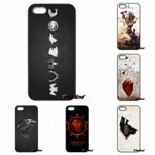 For Xiaomi Redmi Note 2 3 3S 4 Pro Mi3 Mi4i Mi4C Mi5S MAX iPod Touch 4 5 6 Jon Snow Games of Thrones House Stark Phone Case(China)