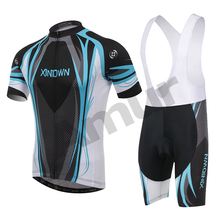 Amur Leopard Short Sleeve Cycling Jerseys sets  Bike Clothing Breathable Quick Dry Men Bicycle Wear Bib Shorts