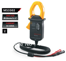 Envío Gratis MASTECH MS3302 Digital AC/DC Current Clamp Transductor con Rms real(China)