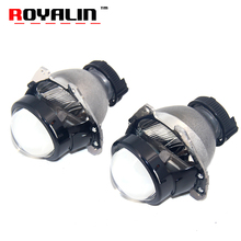 ROYALIN Car Bixenon Projector Headlight Lens for HONDA New Accord Acura TL Odyssey Toyota Sienna 4TL-R Auto Lamps D2S Retrofit(China)