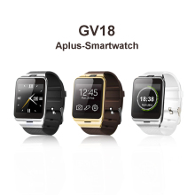 Aplus Gv18 Smart Watch Phone Bluetooth Wrist Android Smart Watch Wearable Device Mobile GSM Support SIM NFC FM PK DZ09 GT08 U8
