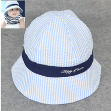 Baby Boy And Girl Kid Spring Summer Pots Hat Cotton Sun Visor Caps Outdoor Baby Girl Hats Sun Beach Bucket Hat 3 Colors