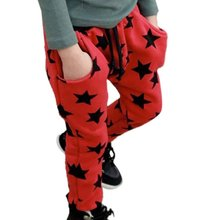 Autumn/Winter  Fashion Baby Kids Toddler Boys Cotton Soft Long Pants Stars Pattern Trousers Casual Bottoms