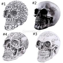 Homosapiens Skull Statue Figurine Human Skeleton Head Medical Skeleton