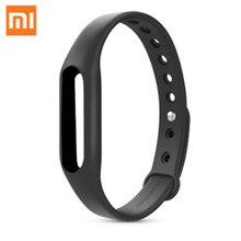 Original Colorful Miband 1& 1S Wristband Silicon Strap For Mi Band Smart Replaceable Smart Band Belt with Black Color
