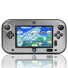 Anti-shock Hard Protective Plastic Aluminum Metal Box Cover Case Shell For Nintendo Wii U Gamepad
