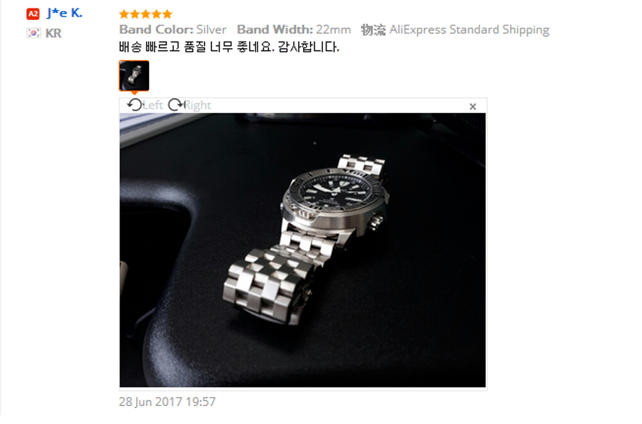High Quality 2022mm SilverBlack Bracelet Men Women Watch Band Strap Cool Replacement Solid Link Stainless Steel Watchstrap (4)