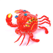 Cartoon Animal Crab Clockwork Wind Up Baby Toys Running Classic Newborn Toy High Quality Children Gift String Pull Line Toy(China)