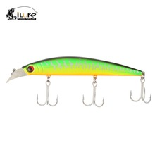 4 pcs/lot ilure Minnow Fishing Lures Hard Bait Big Huge fish Lure 24g145mm sinking 2.5m Vibration VMC Hooks for Casting&Trolling