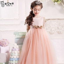 Princess tutu dress wedding birthday party good quality for 6 7 8 9 10 11 12 13 14 15 16 years girl performance evening gown
