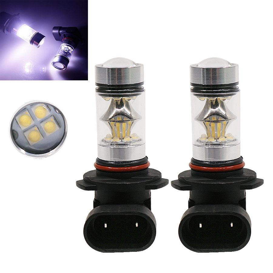 2pcs 100W 850LM HB3 LED Lights 360 Degree High Bright 9005 LED Fog Lamp DRL Daytime Light White Bulb for BMW Audi Toyota Volvo<br><br>Aliexpress