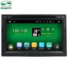 "GreenYi 7"" 1024x600 Quad Core Android 5.1.1 Car PC Fit Peugeot 3008 CITROEN Berlingo 2008-2015 Car DVD GPS Navigation TV"