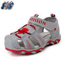 Summer boys girls leather sandals children breathable shoes comfortable beach sandals kids sandalias male female footwear