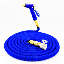 Fupower Portable Car Washer High Pressure Washer Gun Expandable Garden Hose Pipe Spray Nozzle kit(China)