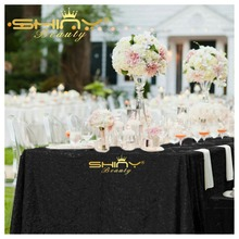 Rectangle Sequin Tablecloth, 48x72inch Black Table Linens For Wedding/Christmas/Party/Birthday Decoration-125x180cm-a