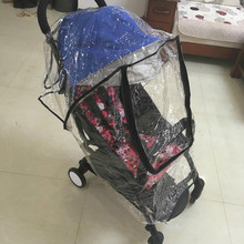 Baby Stroller Cover Universal Waterproof babyzen yoyo yoya Rain Cover Dust Wind Shield Stroller Accessories Pushchairs Buggys(China)