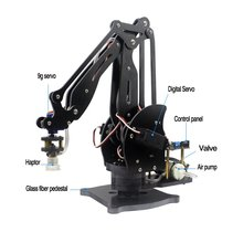 Abb Pump Mechanical Robot Arm Suction Cups Simulation Industry Manipulator Glass Fiber Stand with Full Digital Servo +Controller