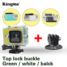KingMa Original for Xiaomi Yi 1 Waterproof Case Mi Yi 40M Diving Sports Waterproof Box Yi Action Camera aksesoris Accessories(China)
